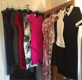 Bundle of ladies dresses size 8-10