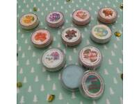Assorted 'Coty' Solid Perfume compacts. Sealed