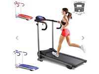 Motorised Treadmill, fold away
