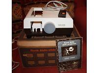 Vintage Rank Aldis Slide Projector With Remote Control..