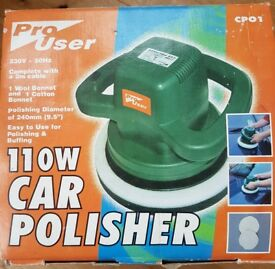 Pro user car polisher ,hardly used