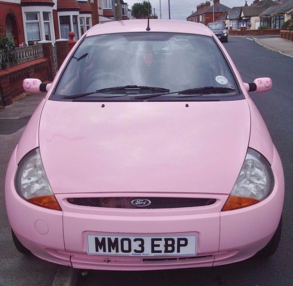 Pink Ford Ka For Sale Blackpool Lancashire
