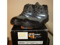 Ladies or Mens GRAFTER SAFETY BOOTS Size 6 steel toe caps