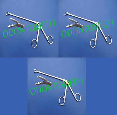 3 Cushing Pituitary Rongeurs 7 2mm Down Ent Surgical Instruments
