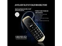 J8 Mini small tiny smallest mobile phone and headset in the world !! bluetooth dialing voice change