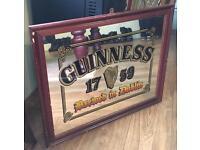 Guinness pub picture/mirror