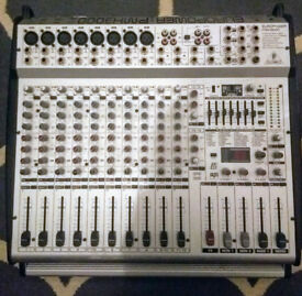 Powered mixing desk - Behringer Europower PMX3000 - 2 x 400W