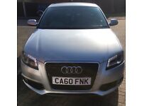 Audi A3 2.0 Tdi S Line 2011 Sportback £30 Tax Full Service History