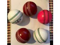 5 Bran New Mix colour Cricket Balls