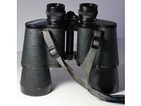 Vintage Commodore Binoculars 16 x 50 Wide Angle Range with Original Case