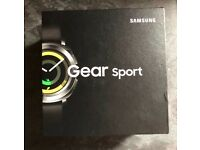 NEW Samasung gear sport s3. SEALED BOX NEVER BEEN OPENED