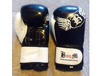 Boom and Lonsdale boxing gloves