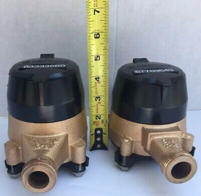 58 X 34 Neptune Water Meter Scratches On Register Nsf-61 New Specifications