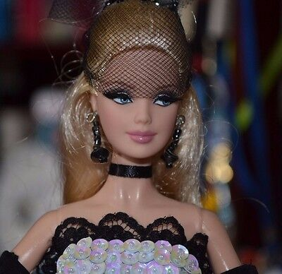 BARBIE BASICS MODEL MUSE WITH CUSTOM DRESS & JEWELRY EXCELLENT CONDITION