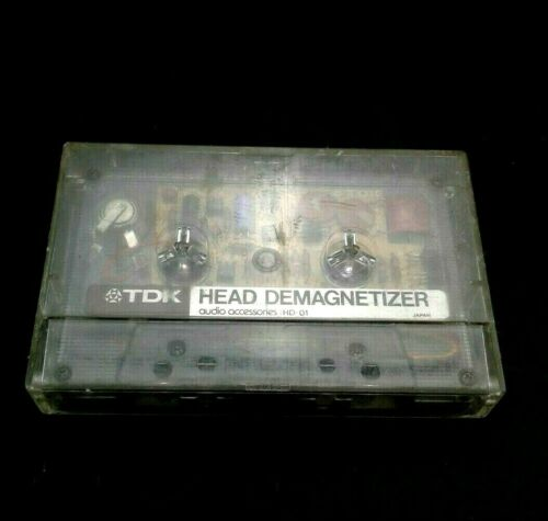 TDK HD-01 Head Demagnetizer Audio Accessories Used Not Tested Made In Japan