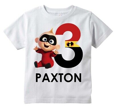 Baby Jack Jack Incredibles Custom T-shirt PERSONALIZE Birthday Choose NAME/AGE](Baby Jack Jack Incredibles)