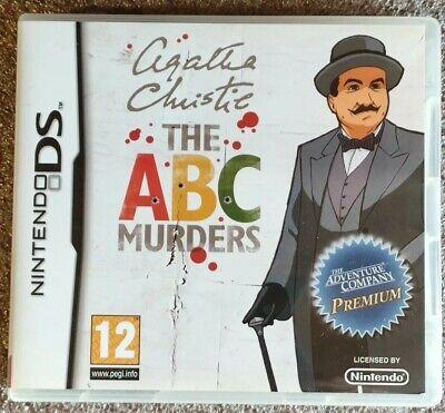 Agatha Christie The ABC Murder FR IT ES EN jeu Nintendo DS 3DS 2DS NEW3DS NEW2DS