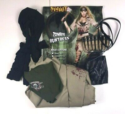 Halloween Costumes Zombie Hunter (Couple's  Zombie Hunters Halloween Costumes Women's Size Small Men's Size Large)