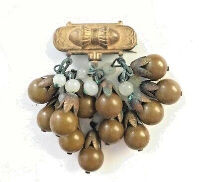 Costume Ideas Unique (Antique Broach Art Nouveau jewelry vintage Unique design Gift idea)