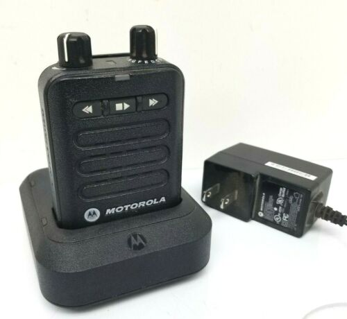 MOTOROLA MINITOR VI (6) 2 Tone Voice Pager VHF 5 Channel w Charger Fire Dept EMS