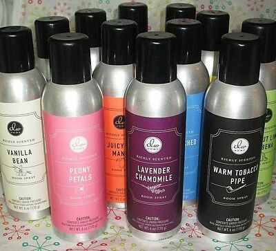 DW Home Richly Scented Room Spray 6 oz. Assorted Popular Scents Your Choice