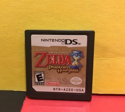 The Legend of Zelda: Phantom Hourglass Nintendo DS, 2007 CART ONLY USED TESTED