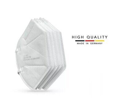 1000x FFP2 Atemschutz Mundschutz Masken Maske Corona Hergestellt in Deutschland
