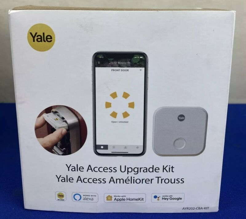 Yale AYR202-CBA-KIT Wi-Fi and Bluetooth Upgrade Kit for Assure Locks NEW