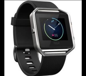 FITBIT BLAZE NEW NIB  SIZE S. WITH EXTRA BAND 175FIRM