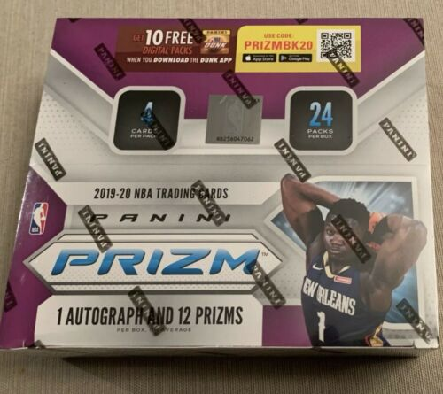 2019-20 Panini Prizm NBA Retail Pack from Sealed Box +2 Free Basketball Cards