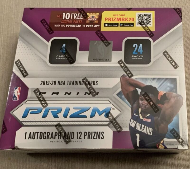 2019-20 Panini Prizm NBA Retail Pack from Sealed Box +2 Free Basketball Cards 🔥