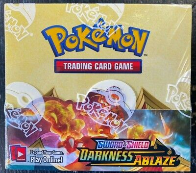 POKEMON TRADING CARD GAME DARKNESS ABLAZE FACTORY SEALED BOOSTER BOX 36 PACKS