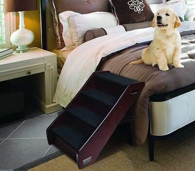 Pet Stairs Wood Steps Dog Step Bed Folding Cat Tall Large Handmade Ramp Ladder