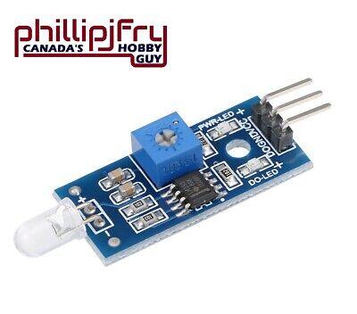 Photosensitive Diode Sensor Light Detection Module 3-pin For Arduino. Canada