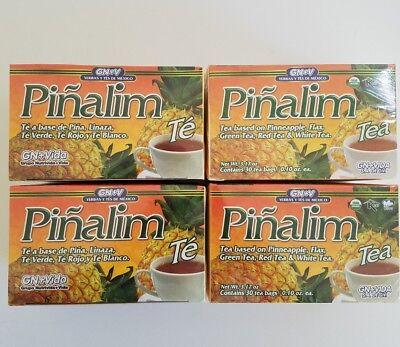 4 Pack Te Pinalim Gn Vida Pi Alimtea Te De Pina Pineapple Diet 120 Days