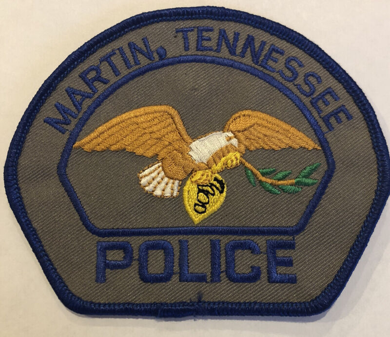 Martin Tennessee Police Patch