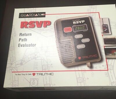 New Trilithic Rsvp2 Reverse Path Tester Catv With Cd And Case Nib