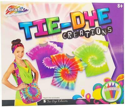 Tie Dye Creations Make Your Own Crazy Designs for Age 8+ Children's