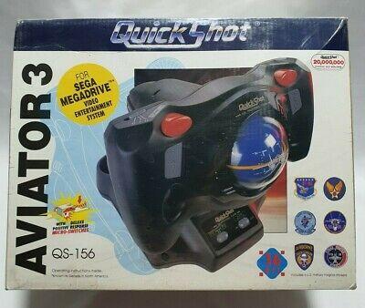 QUICKSHOT AVIATOR 3 joystick for SEGA MEGADRIVE - NEW