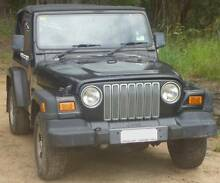 2000 Jeep Wrangler Convertible Sports Soft Top Black Eumundi Noosa Area Preview