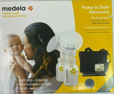 Medela Pump in Style Advanced Portable Double Electric Breast Pump with Tote