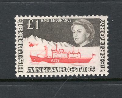 British Antarctic 1969 QEII £1 - OG MLH - SC# 24  Cats $160.00   No Reserve!