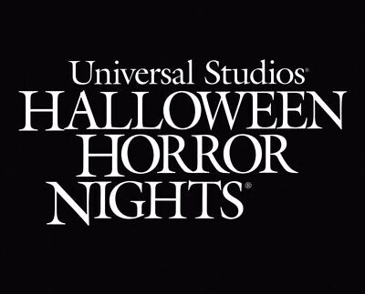 Orlando Studios Halloween (UNIVERSAL STUDIOS HOLLYWOOD or ORLANDO HALLOWEEN HORROR TICKETS PROMO)