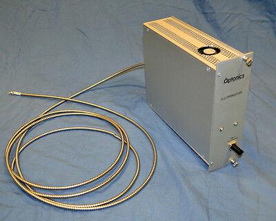 Optonics Ortec Nim Plug-in Fiber Optic Illuminator Module Card Ortec Tennelec