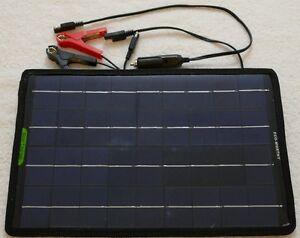 10w Solar Panel 12V Car Boat Caravan Battery Trickle Charger Light only 420g UK