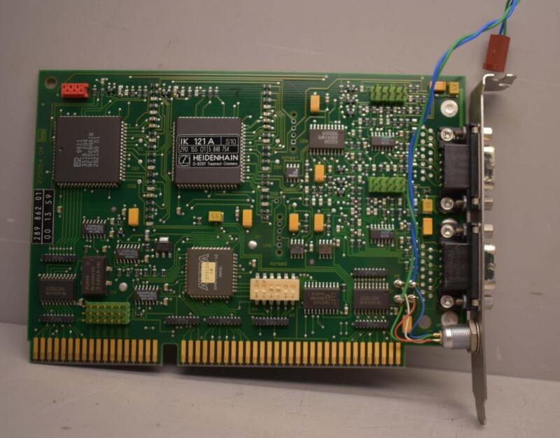 Heidenhain IK 121A PC Counter ISA Card ++ NICE ++