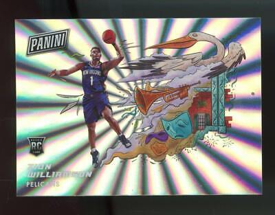 2020 Panini On The Horizon Zion Williamson RC Rookie SP Case Hit