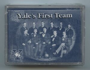 2002 YALE Greats Football SET:  Calvin Hill, Amos Alonzo Stagg, Walter Camp