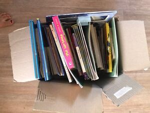 Box of books and puzzles Scarborough Stirling Area Preview