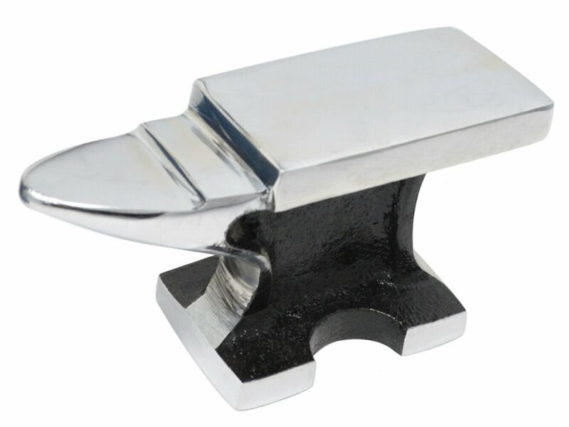 Chrome All-Purpose Jewelers Horn Anvil 2 Lb Pound Bench Metalsmith Forming Tool